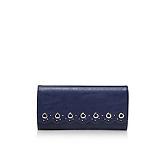 Nine West - Blue 'Scallop clutch' handbag with shoulder strap