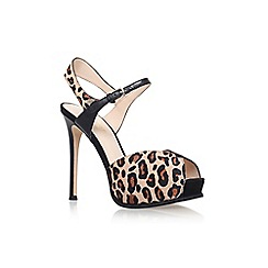 Nine West - Brown C'ruzeto 5' high heel sandal