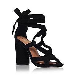 KG Kurt Geiger - Black 'Mia' high heel sandal