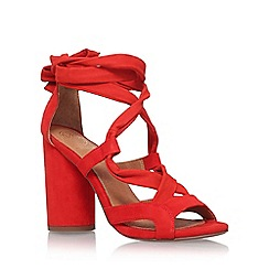 KG Kurt Geiger - Orange 'Mia' high heel sandal
