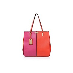 Carvela - Pink 'Lizzie' shopper handbag with shoulder strap