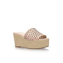 Nine West - Pink 'Ertha' high heel wedge sandal
