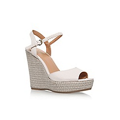 Nine West - White 'Flawless' high heel sandals