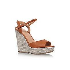 Nine West - Brown 'Flawless' high heel sandals
