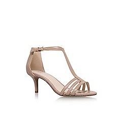 Nine West - Natural 'Gohome' high heel sandal