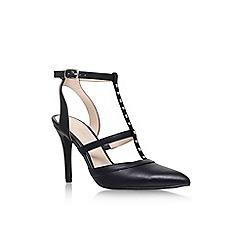 Nine West - Black 'Frost9' high heel sandals