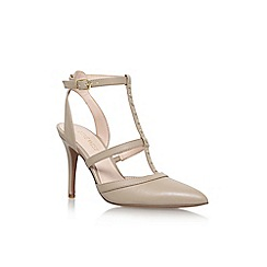 Nine West - Brown 'Frost9' high heel sandals