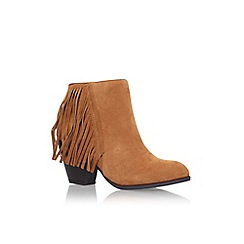 Miss KG - Brown 'joelle' high heel ankle boots