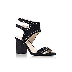 Nine West - Black 'Gailon' high heel sandal