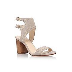 Nine West - Brown 'Gailon' high heel sandal
