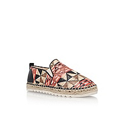 Nine West - Multicoloured 'Honey 2' flat espadrille sneaker