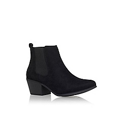 Miss KG - Black 'juna' mid heel ankle boots
