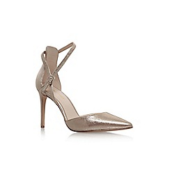 Nine West - Gold 'Taragon' high heel sandal