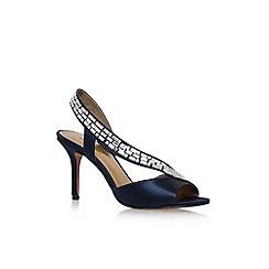 Nine West - Blue 'Giulia 2' mid heel sandal