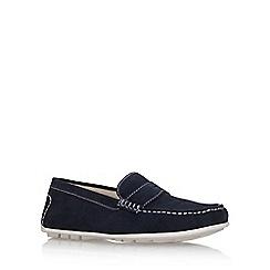 KG Kurt Geiger - Blue 'Farnham' flat slip on loafers