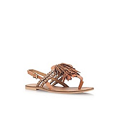 Carvela - Brown 'Brass' low heel sandal