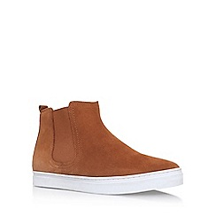 KG Kurt Geiger - Brown 'Flitwick' Flat Slip On Sneakers
