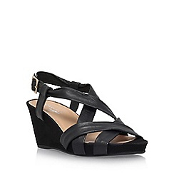 Carvela Comfort - Black 'Sasha' high heel sandals