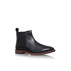 KG Kurt Geiger - Black 'Bootle' flat slip on boot