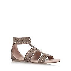 Carvela - Brown 'Bounce' flat sandals