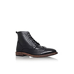 KG Kurt Geiger - Black 'Boston' lace up mens ankle boot