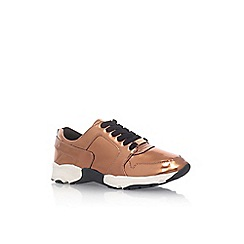Carvela - Metal 'Lacrosse' flat lace up sneakers