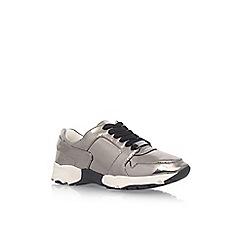 Carvela - Grey 'Lacrosse' flat lace up sneakers