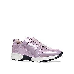 Carvela - Pink 'Lacrosse' low top trainers