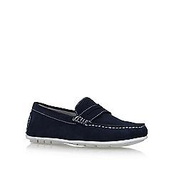 KG Kurt Geiger - Blue 'farnham' flat slip on loafers
