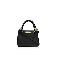 Carvela - Black 'Micro Dee' handbag with shoulder strap