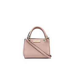Carvela - Pink 'Micro Dee' handbag with shoulder strap