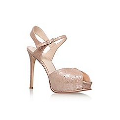 Nine West - Gold 'Cruzeto' high heel sandal