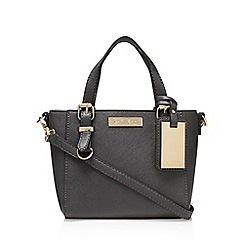Carvela - Grey 'Micro Din' handbag with shoulder strap
