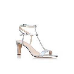 Nine West - Gold 'Dacey' high heel sandals
