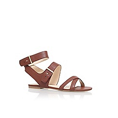 Nine West - Brown 'Darcelle' flat sandals