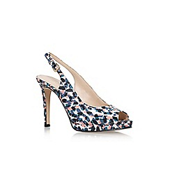 Nine West - Blue 'Emilyna 3' high heel sandal