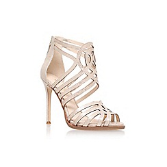 Nine West - Gold 'Hart Throb' high heel sandals