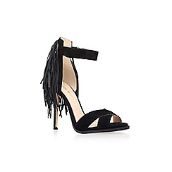 Nine West - Black 'Hustle' high heel sandal