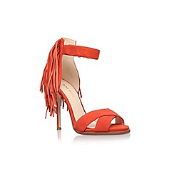 Nine West - Red 'Hustle' high heel sandal