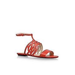 Nine West - Red 'Jumprope' Flat Sandals
