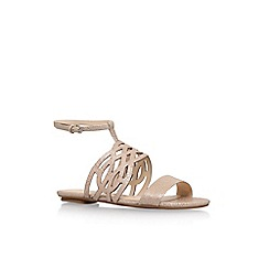 Nine West - Gold 'Jumprope' flat sandal