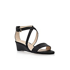 Nine West - Black 'Lacedress' flat sandal