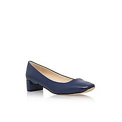 Nine West - Blue 'Olencia3' low heel court shoe