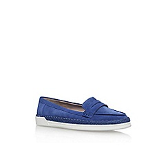 Nine West - Blue 'Verycold' flat loafers