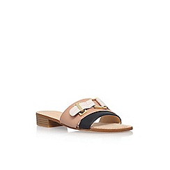 Nine West - Multicoloured 'Yanni' low heel slip on sandals