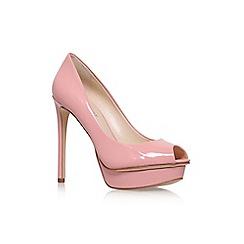Nine West - Pink 'Edlyn' high heel peeptoe shoe