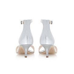 Nine West - Silver 'Leisa' low heel sandals