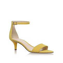 Nine West - Yellow leisa high heel sandals