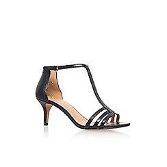 Nine West - Black 'Go Home' high heel sandals