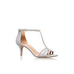 Nine West - Grey 'Go Home' high heel sandals